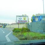 Regie Auto, cartello stradale