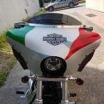 Spoiler moto Harley Davidson