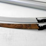 Copertura finitura radica di noce con pellicola alluminio