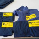 Abbigliamento da lavoro, magliette, salopette, giacche